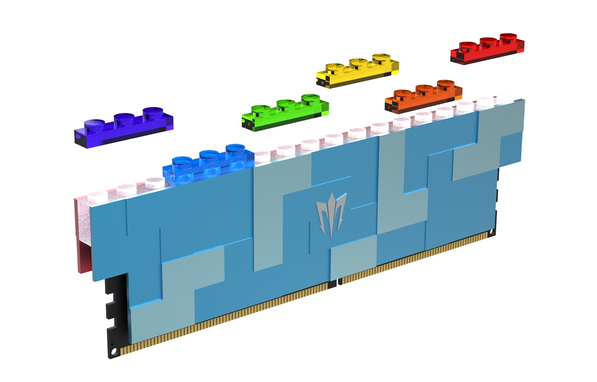 Galax Shows DDR5 Memory With Lego Compatibility