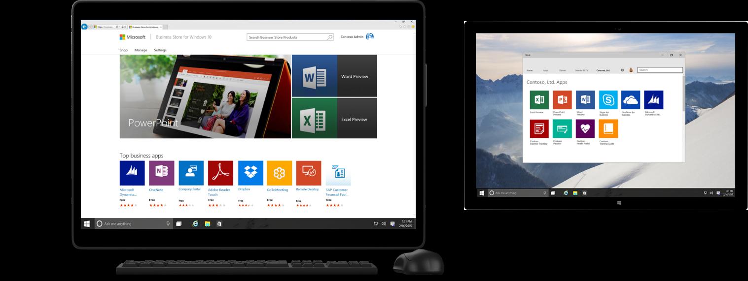 Bedrijven kunnen zelf een eigen Windows Store inrichten