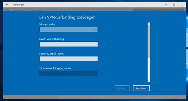 Een Vpn Verbinding Instellen In Windows 10 Nieuws Pcmwebnl