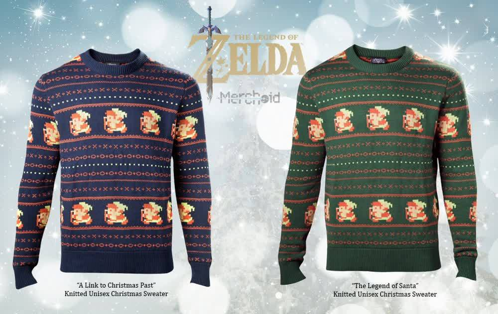 Gaming Kersttrui.Blijf Deze Winter Warm Met Een Zelda Kersttrui Nieuws Insidegamer Nl