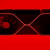 Onofficiële render van hoe verwacht wordt dat NVIDIA's Ampere-generatie videokaarten eruit zal zien.