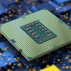 Promotionele afbeelding van een Rocket Lake (11th Gen) Intel Core-processor.