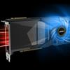 Illustratie van de airflow van MSI's CMP 50HX Miner-videokaart.