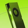 Illustratie van een RTX A5000-designkaart van Nvidia, welke nu (tijdelijk) overklokbaar zou moeten zijn.