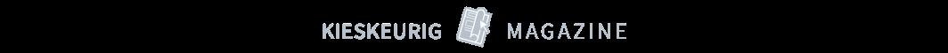 Kieskeurig magazine logo