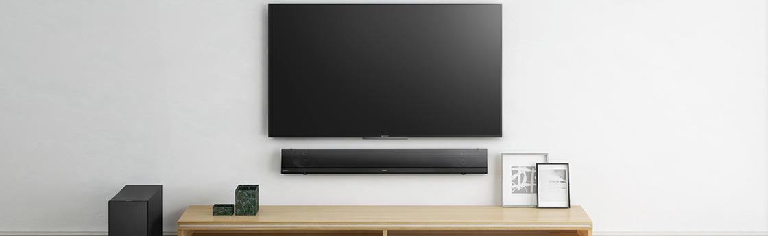 Super Zo kun je de tv aan de muur ophangen &OQ66