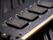 Close-up van een DDR5-geheugenmodule van TeamGroup.