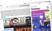 Met Slide Over kunnen de meeste iPad's met iOS 11 overweg