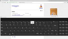 Het Windows 10 schermtoetsenbord omzeilt keyloggers