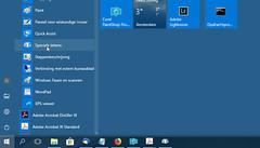 Voeg speciale tekens in met de gelijknamige Windows tool