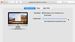 Neem het heft zelf in handen wat de helderheid van Mac beeldscherm betreft