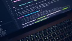 script, laptop, programmeren, code