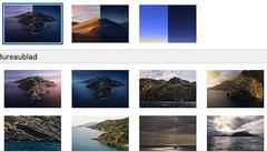 macOS Catalina heeft een serie kant-en-klare achtergronden voor je klaarstaan