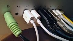 Verschillende poorten en kabels zullen altijd wel blijven bestaan