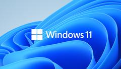 Het officiële logo van het Windows 11-besturingssysteem, ten tijde van de officiële onthulling.