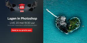 Gratis workshop: Lagen in Photoshop - meld je nu aan!