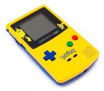 game boy color pikachu