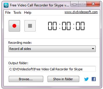 Skype-gesprekken opnemen