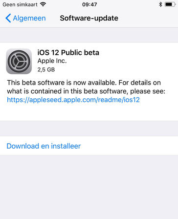 ios 12 downloaden
