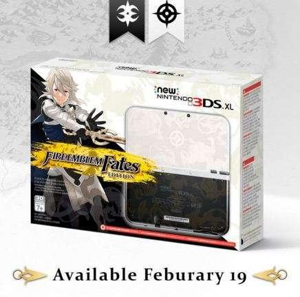 Fire Emblem Fates 3DS XL