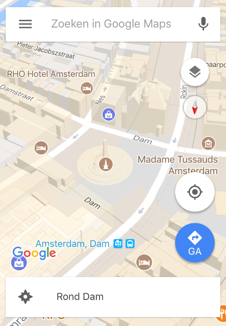 Google Maps-tips  3D-weergave