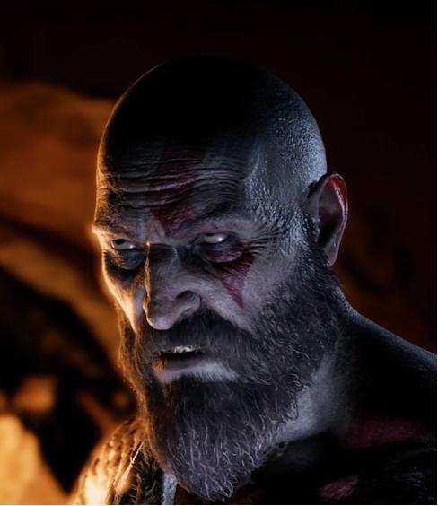 Kratos God of War foto-modus