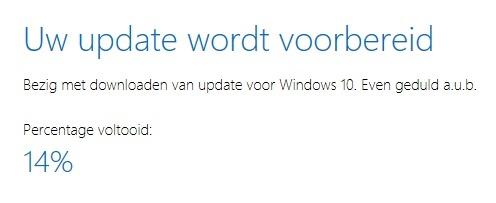creators update installeren