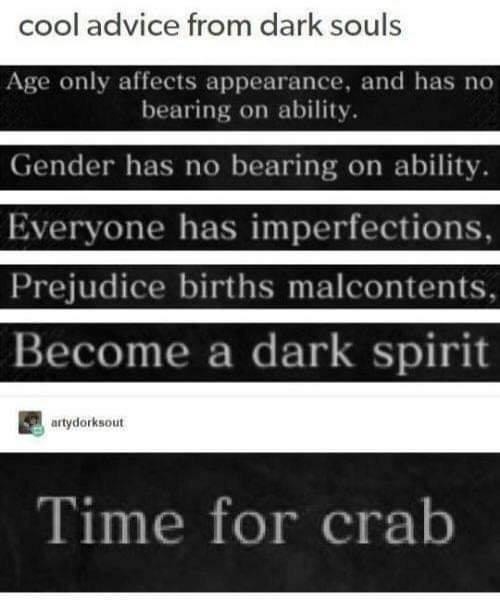 Dark Advice