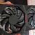 Bovenaanzicht van een Radeon RX 6600 XT-videokaart van een AMD-partner.
