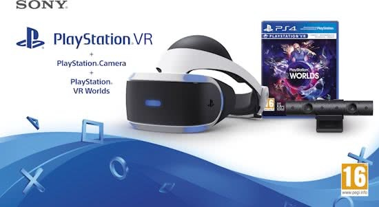 Sony PlayStation VR Worlds Pakket + camera
