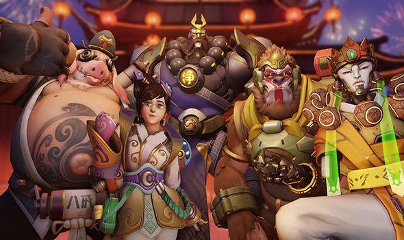 Overwatch Chinees Nieuwjaar