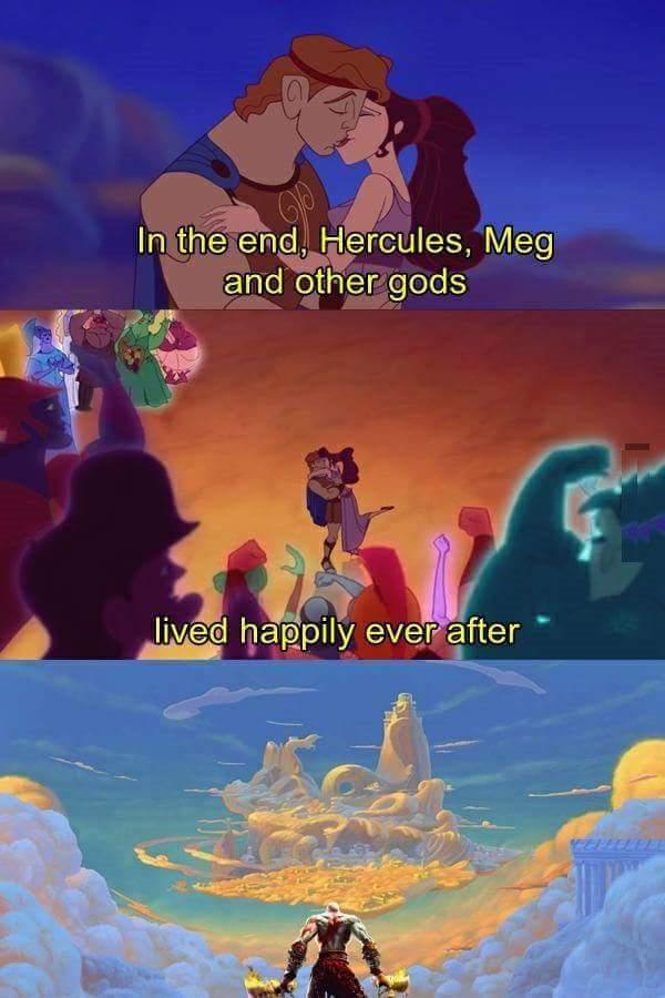 kratos meme hercules wtf