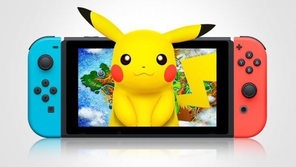 Pokemon switch pikachu