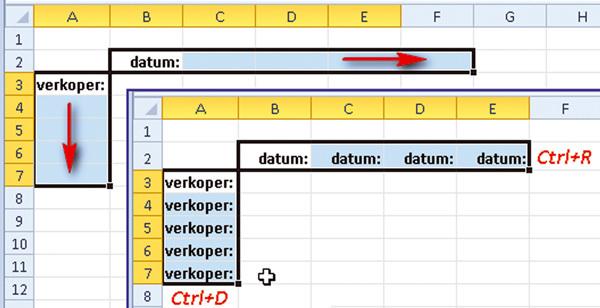 Arbeitsblätter Excel Kopieren : Excel  kopiëren met sneltoetsen office pcmweb