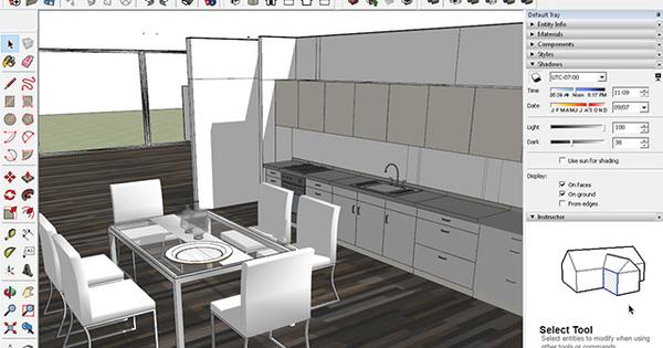 3d interieur design met sketchup nieuws for 3d programma interieur