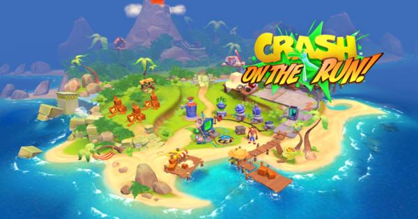 Crash Bandicoot: On the Run! verschijnt 25 maart | Nieuws - Gamer.nl