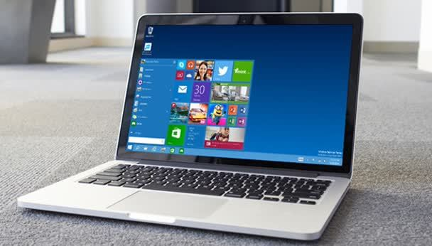 Windows 10 op je Mac