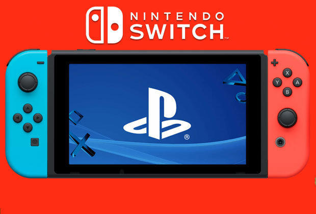 Sony PlayStation Nintendo Switch combo