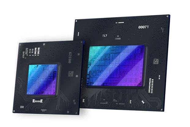 Promotioneel beeld van de eerste Intel Arc-gpu's voor gamers en content creators.