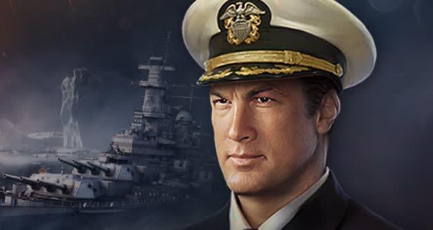 World of Warships Steven Seagal
