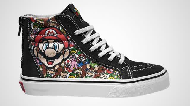 Nintendo Vans