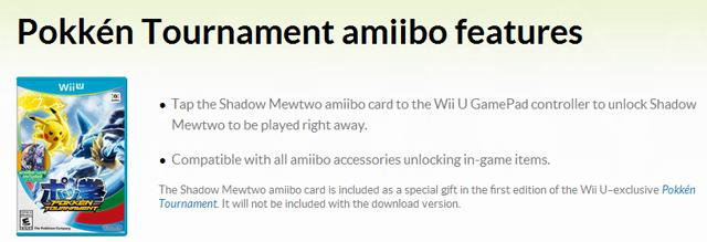 Pokken Amiibo