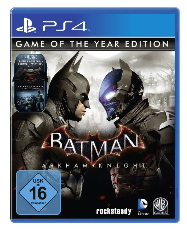 Batman Arkham Knight GOTY PS4