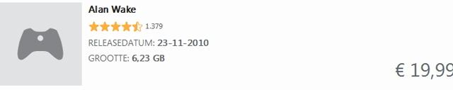 Alan Wake 360