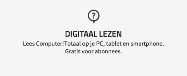 digitaal lezen