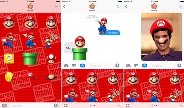 Super Mario Run Sticker