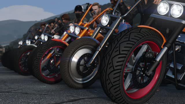 GTA V Biker