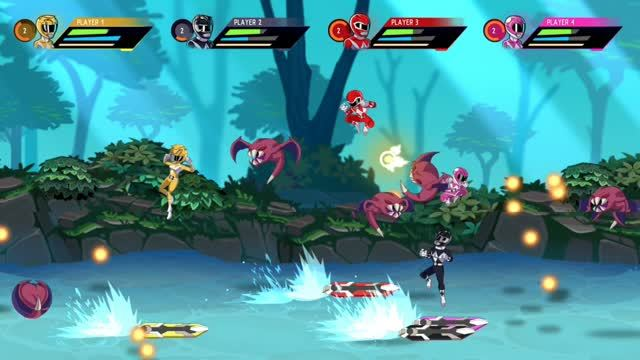 Mighty Morphin Power Rangers Mega Battle