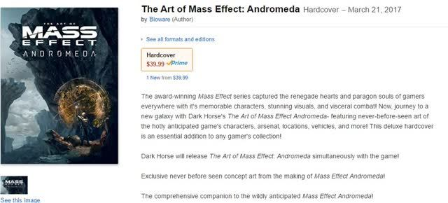 Mass Effect Andromeda releasedate
