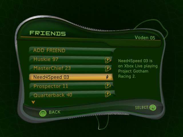 Xbox Dashboard